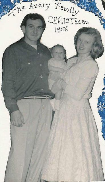 Averys Christmas 1956