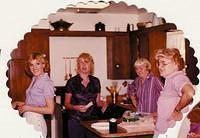 Cheryl Mom Aunt Rosemary and Aunt Marcella